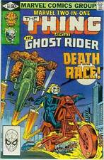 Marvel Two-In-One # 80 (Thing + Ghost Rider) (USA, 1981)