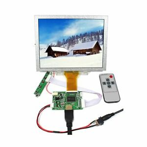 "VSDISPLAY 8 inch EJ080NA-05A LCD Screen 8"" 800x600 Display Monitor Work with ..."