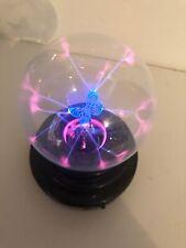 Magic Novelty USB Plasma Ball Touch Sensitive Lamp Light Lightning Butterfly