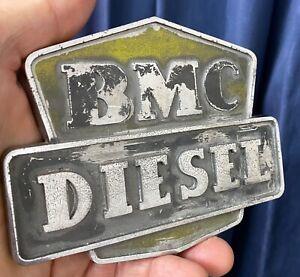 BMC Diesel Badge, used, original, 3/45, 4/65.