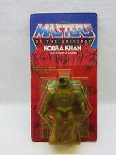 MOTU,Vintage,KOBRA KHAN,Masters of the Universe,MOC,carded,Sealed,figure,He-Man