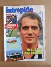 INTREPIDO n°13 1982 Roberto Bettega Massimo Palanca Vandereycken  [G491]