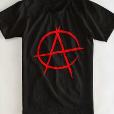 """""""anarquía"""" Camiseta-Todas las Tallas: Rebeldes/Rock/Goth/Punk/Metal/Biker // Retro/vintagegift"""