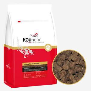 Koifutter Ground Finder Classic 1,5-15 kg 3/6 mm Herbst & Winterfutter sinkend