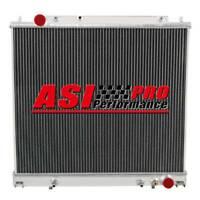 2 ROW Radiator For 94-07 Mitsubishi Delica/L400/Spacegear 4cyl Petrol Diesel AT