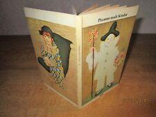 Picasso malt Kinder - kleines Buch mit Bildtafeln - Orig. Ausg. von 1961  /S24