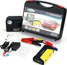 Kit emergenza auto Compressore aria gomme + powerbank starter batteria ruota SOS