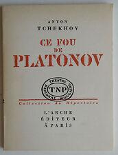 Anton Tchekhov - Ce Fou de Platonov - Théatre national populaire