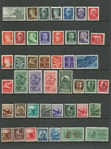 Italy A very Nice Selection of Unmounted Mint Stamps with Good CV