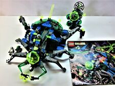 Lego Vintage Space Insectoids #6977-Arachnoid Base-100% w/figs & manual (1998)