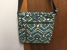 Vera Bradley Travel Ready Crossbody, purse, Rain Forest