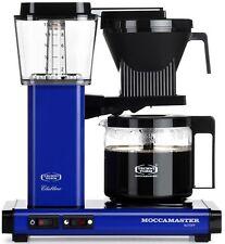 Moccamaster KBG Automatic Drip-Stop 40oz Coffee Maker - Royal Blue, Glass Carafe