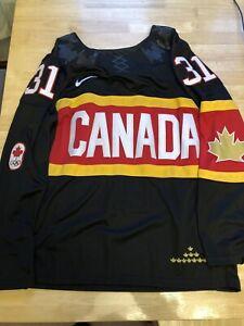 Carey Price Team Canada Olympics IIHF NHL Jersey Nike Black