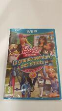 Barbie La Grande Aventure Des Chiots Nintendo Wii U Neuf **