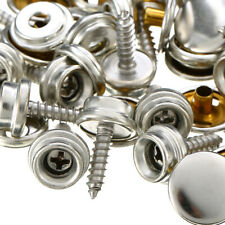75Pcs/Set Stainless Steel Screw Snap Fastener Kits Press Studs For Boat Canvas