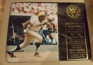 Willie Stargell Plaque-Hall of Fame Pittsburgh Pirates HOFER!!!