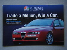 Avant Card #13793 2009 CNBC Currency Challenge Trade A Million Win Car Postcard