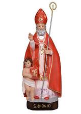 Saint Blaise resin statue cm. 40