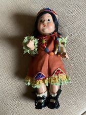 Native American Indian doll (vintage)