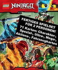 LEGO Ninjago TCG Sammelkarten: Fertiges Spielset für 2 Personen