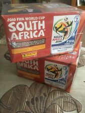 Panini World Cup 2010 Football Stickers 2 Box 200 Packets