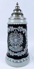 King German Beer Stein Deutschland 0.5 liter tankard beer mug Limited Edition