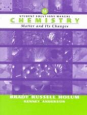 Chemistry: The Study of Matter and Its Changes, Student Solutions Manual, 3rd Ed
