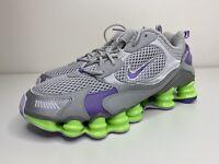Nike Shox TL Nova SP Platinum Green Purple Shoes CK2085-002, Women's 11 M