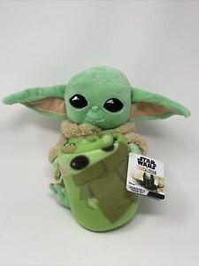 Star Wars YODA Blanket Throw Set GROGU Mandalorian NEW