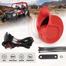 Utv Horn Kit With Rocker Switch For Polaris Rzr General Ranger Can Am Maverick X3