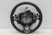 2018 FORD GALAXY Multifunctional Black Leather Steering Wheel