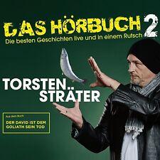 TORSTEN STRÄTER - DAS HÖRBUCH 2 LIVE-DER DAVID IST DEM GOLIATH SEI  3 CD NEU