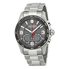 Victorinox Swiss Army 241618 Chrono Classic Analog Display  Quartz Silver Watch