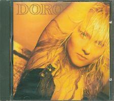 Doro - Omonimo Same Red Vertigo West Germany Press 1990 (Simmons/Kiss) Cd Ottimo