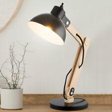 Globo Tischlampe Schreibtischlampe Tongariro Holz 1x E27