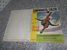 ALBUM CALCIATORI CAMPIONATO DI CALCIO 1956 1957 SPORT NAPOLI COMPLETO ORIGINALE