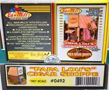 Papa Lou's Cigar Shopper Bar Mills 0492 0882 HO Craftsman Laser Kit O28.16