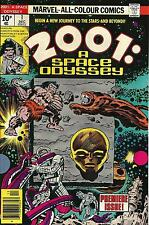 2001: A SPACE ODYSSEY #1 Premier Issue Marvel Comic (UNREAD-MINT) by Jack Kirby
