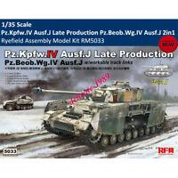 Ryefield 5033 Pz.Kpfw.IV Ausf.J Late Production Pz.Beob.Wg.IV Ausf.J 2in1 Model