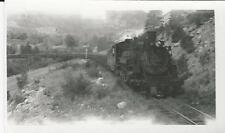 D&RGW Make 481- Fall of 1954 Train Snapshot