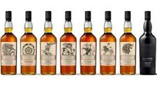 SET 8 bottiglie GAME of Thrones Malt Whisky  Nuovo