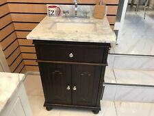 Rubeza 600mm Didim Vanity Unit Basin White Floor Standing