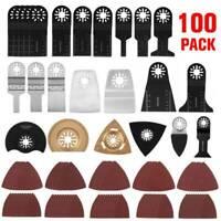100pcs Zubehör Sägeblätter Metall Multifunktionswerkzeug für Fein Bosch Makita