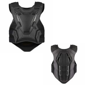 2021 Icon Field Armor 3 Men's Street Motorcycle Black/Stealth Vest - Pick Size
