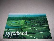 VIEW of RIVERBEND GOLF COURSE FORT MYERS FLORIDA FL. POSTCARD