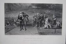 Original-Stahlstiche (1800-1899) aus Großbritannien mit Porträt & Persönlichkeiten