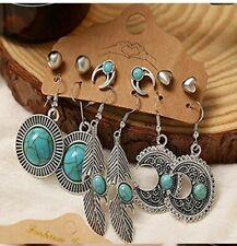 Vintage Hollow Drop Dangle Earrings Set  6