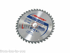 Paquete de 5.1-25.4cmcm - 254mm Tct Sierra Discos Corte / Hojas 40 and 60 TEETH
