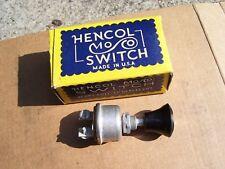 Vintage Automobile NOS switch dash foglight head lamp gm ford chevy rat rod vw