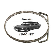 AUSTIN 1300 GT CLASSIC CAR 1970 REPRO BELT BUCKLE - GREAT GIFT ITEM